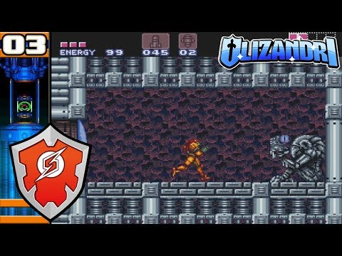 Super Metroid - Power Up Hunt, Speed Booster, Power Bombs, Spazer, Ice Beam & More - Episode 3