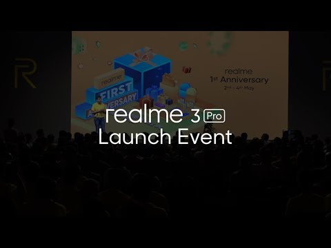 realme 3 Pro Launch Event