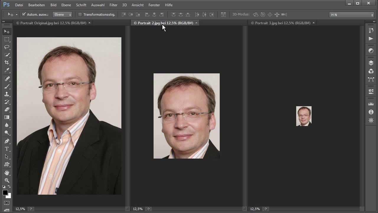 Gemütlich Passfoto Photoshop Vorlage Fotos - Entry Level Resume ...