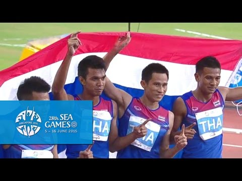 Athletics  Men's 4x400m Relay  Final (Day 6) | 28th SEA Game