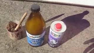 видео Как убрать краску с кирпича