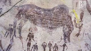 Prehistoric Paintings in Gilf Kebir
