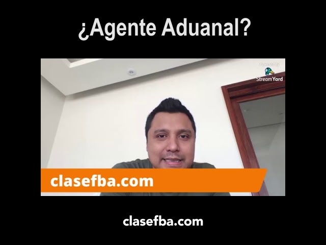 ¿Agente Aduanal?