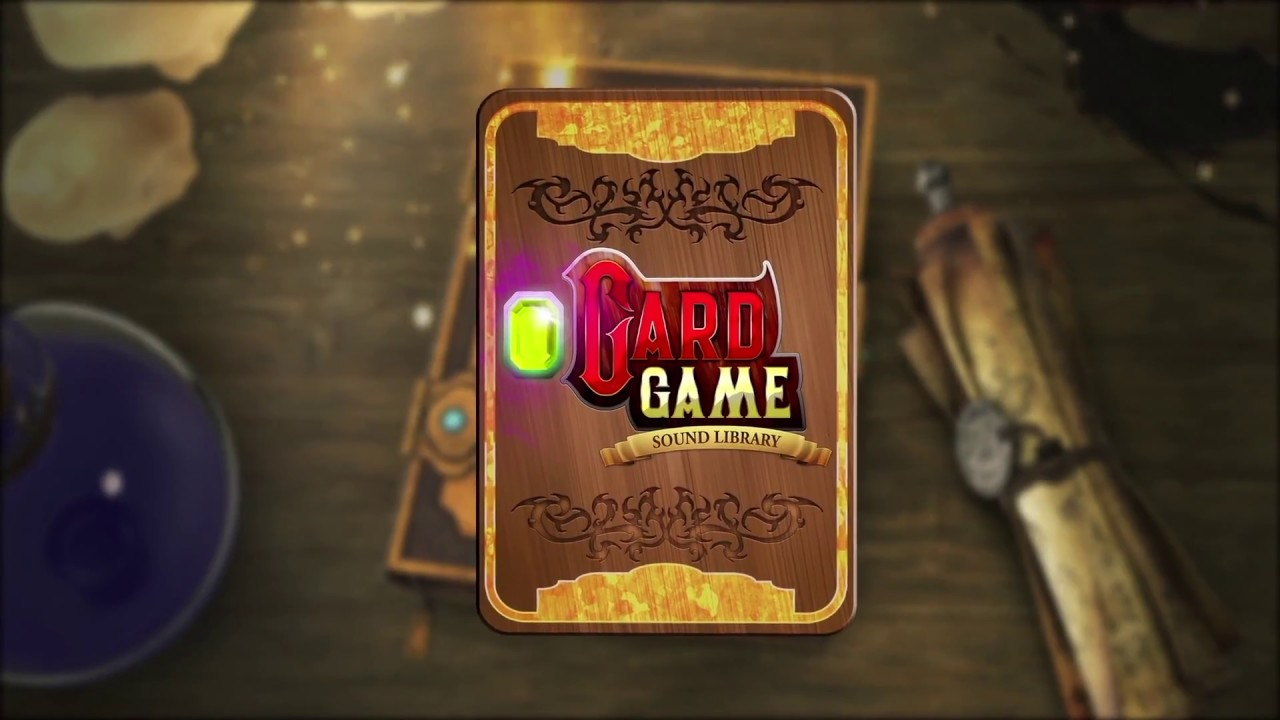 AAA Card Game - DCCG Sound Effects Library - YouTube