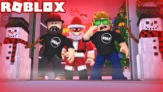 DON'T PLAY THIS GAME ALONE on CHRISTMAS! / ROBLOX THE SCARY ELEVATOR