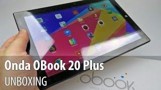 Onda OBook 20 Plus with Keyboard Unboxing - Tablet-News.com