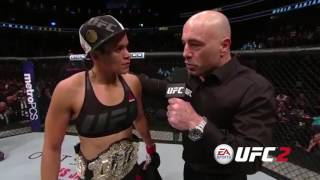 UFC 207: Amanda Nunes Octagon Interview
