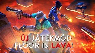 ÚJ JÁTÉKMÓD!   FLOOR IS LAVA! (Fortnite Battle Royale)
