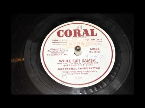 "Jack Parnell and His Rhythm ""white suit samba"" 78"