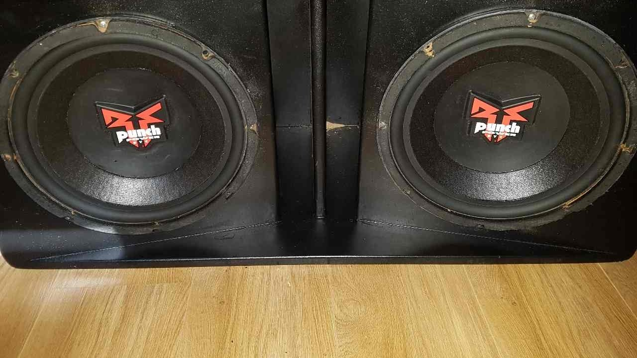 Rockford Fosgate Punch Power Dvc 12 Inch Subwoofers On A
