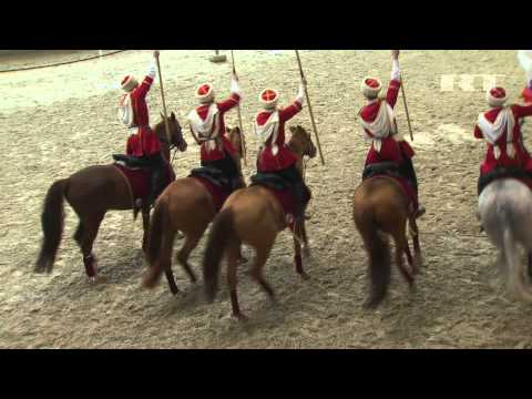 Kremlin Riding School rehearses to perform for Elizabeth II (RT)
