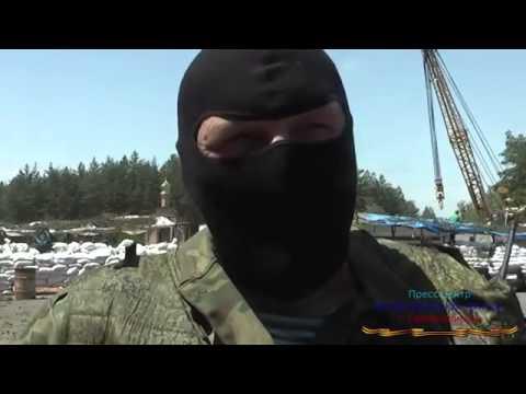 Украина Блок посты Северодонецка