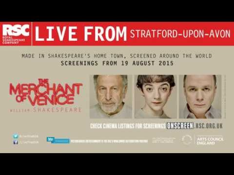 Cinema trailer - international |The Merchant of Venice | Royal Shakespeare Company