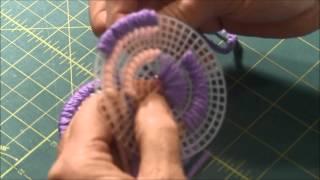 Plastic Canvas Coaster Tutorial #2