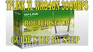 Tp-link TL-WR840N 300mbps Router unboxing and installation tutorial with Aliance BroadBand.
