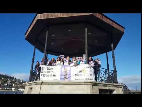 Seguidores de Sabela de 'OT' le muestran su apoyo en Viveiro