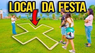 CONHECENDO O LOCAL DA FESTA DE 1 ANO DA ALICIA