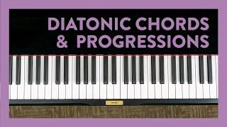 Diatonic Chord Progressions - Piano Lesson 185 - Hoffman Academy