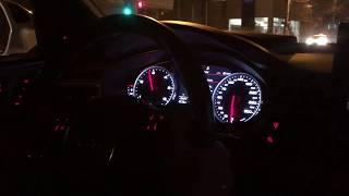 Audi A6 3.0 TDI BiTurbo Bi-TDI 313 CP Acceleration wheel spin (stage 1 by BXR Garage) Launch Control