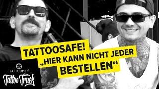 Interview mit: TATTOOSAFE @ Berlin Tattoo Convention TATTOO TRUCK | TattooMed