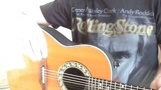 1982 Ovation 1612 Acoustic Electric Guitar Review By Scott Grove
