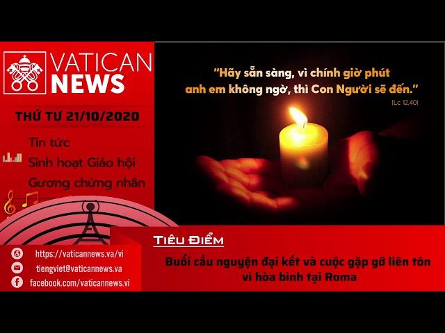 Radio: Vatican News Tiếng Việt thứ Tư 21.10.2020