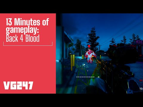 Back 4 Blood Gameplay - The Diner   PC 1440p Ultra settings