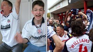 THE MOMENT BOLTON SECURE PROMOTION to LEAGUE ONE vs Crawley