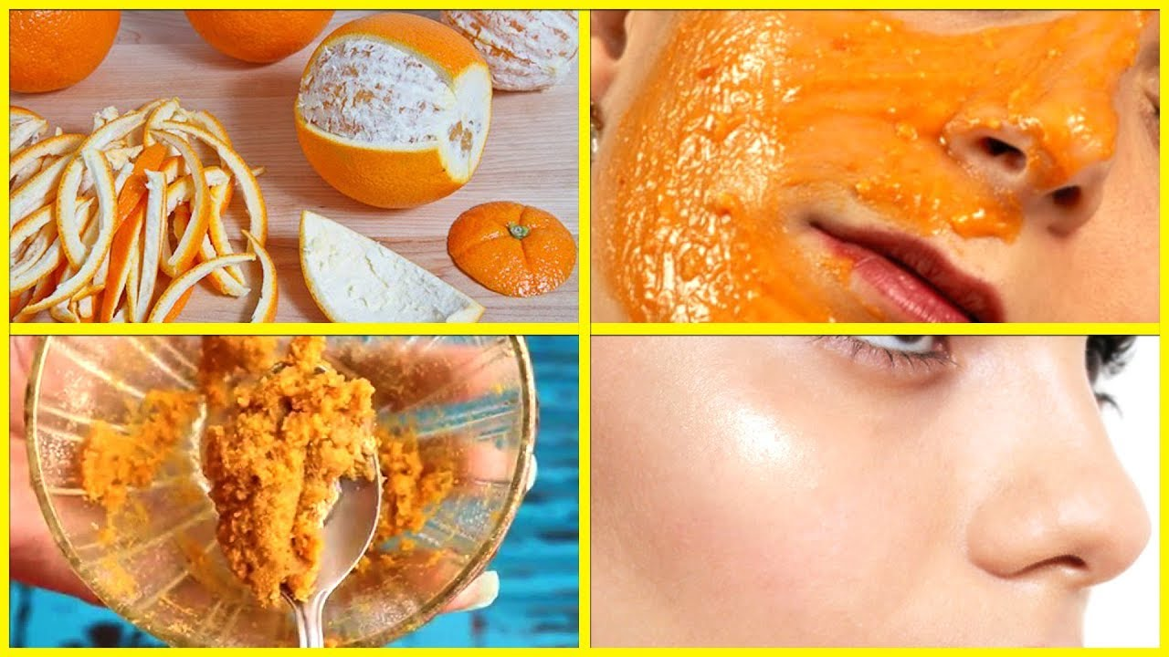 Skin Whitening With Orange Peels Face Pack for Glowing Skin  10% Effective