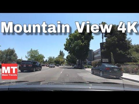 Mountain View California - El Camino Real - Silicon Valley Drive USA 🏆