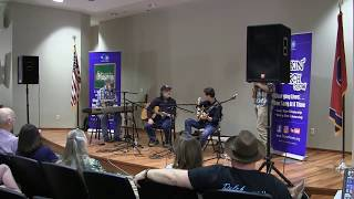 Black Mountain Rag- Presley Barker, Wayne Henderson, Jeff & Luke Little Pickin' Porch 5/20/2018