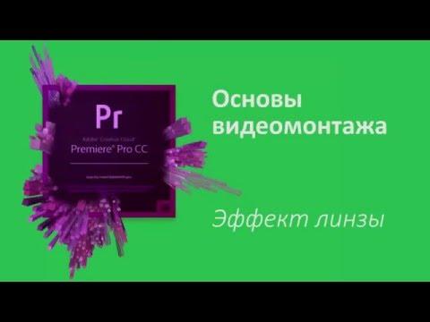 19 урок Эффект линзы. Увеличение и приближение части изображения в Adobe Premiere Pro