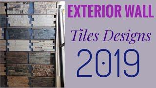 Best Exterior Wall Stone Tiles Design | Stone Cladding Exterior Walls India