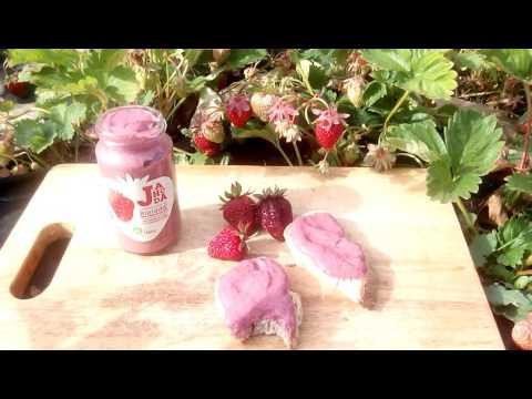 Čerstvá jahodová marmeláda - Raw Bio kvalita