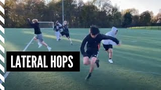Lacrosse Speed and Agility: Lateral Hops to Rotational Broad Jumps