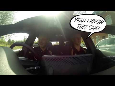Leicestershire Foxes Carpool Karaoke