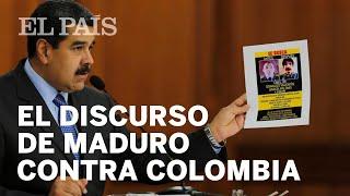 NICOLÁS MADURO exige explicación al Gobierno de Estados Unidos y Colombia
