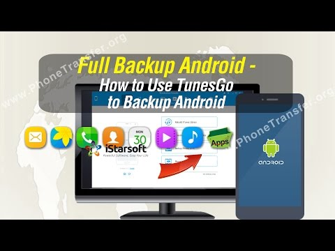 Full Backup Android - How to Use TunesGo to Backup Android (Included Android 7.1.x Phone)