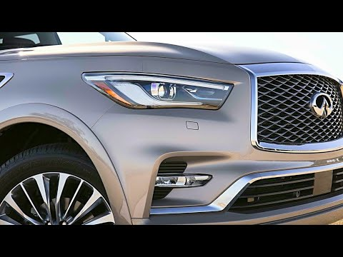 2018 Infiniti Qx80 Interior Exterior And Drive 7 Seater 3rd Row Seating 4wd Upscale Suv
