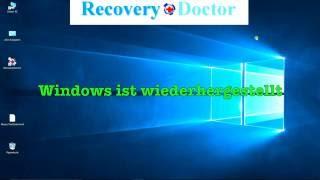 Wiederherstellung von Windows