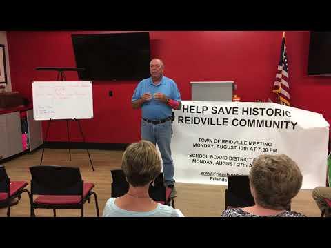 State Rep. Bill Chumley talks about Reidville Elementary School plans