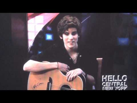 Ethan Harris - The X Factor audition pass interview - Hello Central NY