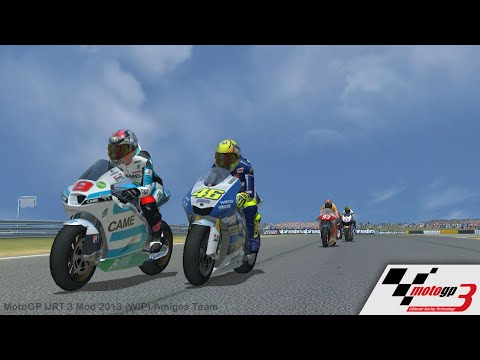 MotoGP URT 3 Mod 2013 + LINK DOWNLOAD By Amigos Team - YouTube