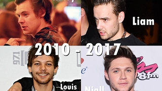 One Direction - Through the years (2010-2017)