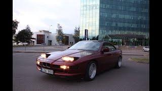 BMW 850i - German Ferrari   Svajonių automobiliai   Darius Motor Hobby