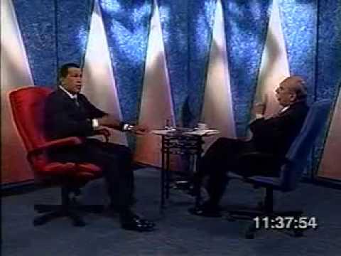 Oscar Yanez entrevista Hugo Chavez