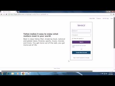 Yahoo.com Sign Up 2014 - Yahoo Mail Login