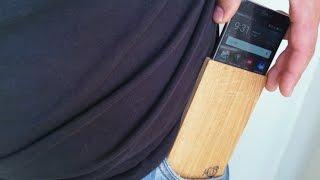 Making smartphone wooden case