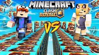 SZALONY WYŚCIG! - CLASH ROYALE LUCKY BLOCKI MINECRAFT (Lucky Block Race) | Vito vs Bella