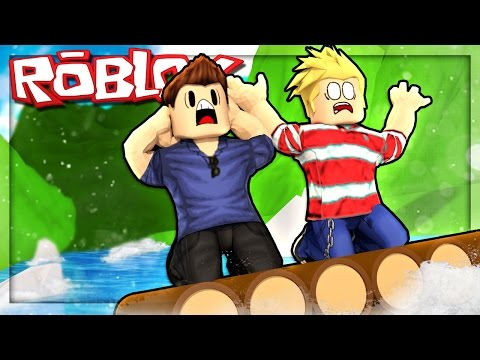 Roblox Adventures - BUILD A RAFT AND SURVIVE! (Roblox Rafting Survival)